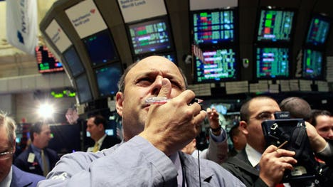 U.S. equities were trading along the flat line on Monday in the wake of the SP 's best monthly performance in more than three years.