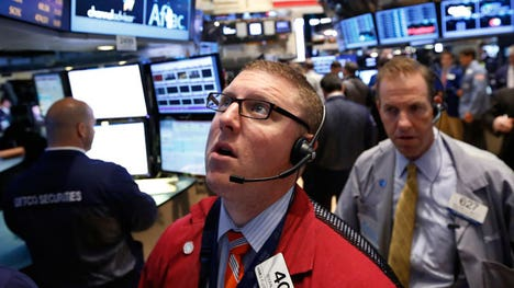 U.S. equity markets capped the trading session deep in the red Wednesday. All three major indices dropped more than % amid concerns over growth prospects in the U.S. and overseas.