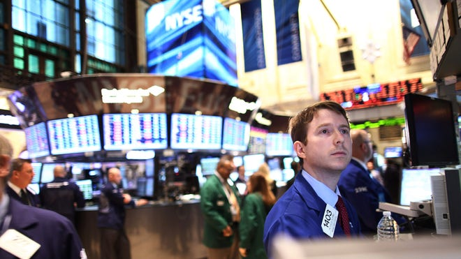 NYSE Trader Contemplates