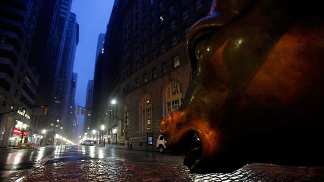 Wall Street Bulll Hurricane