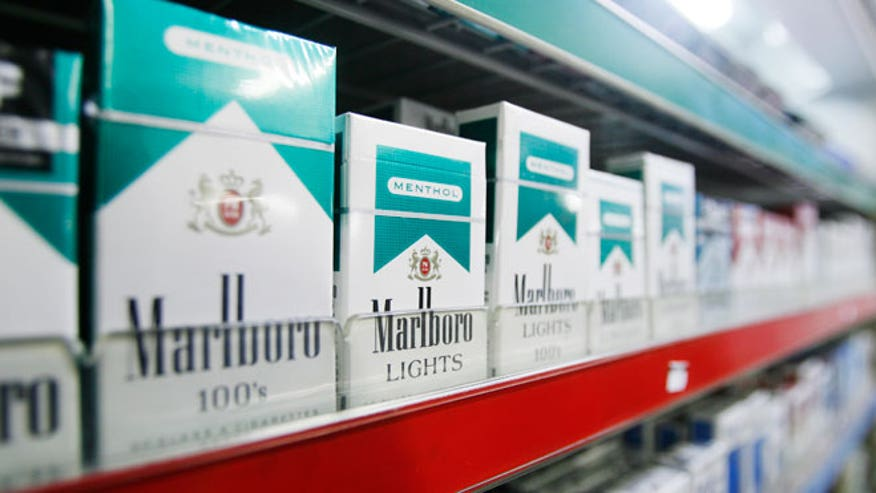 Types Marlboro cigarette