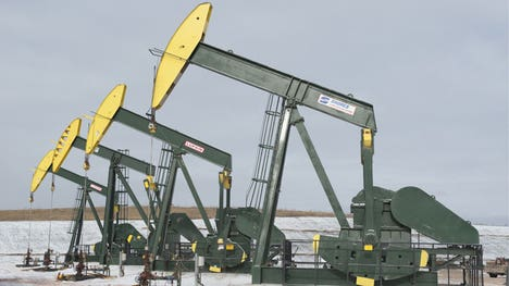 The EIA determined that domestic oil output was not as strong as the agency previously thought, sending prices soaring Monday.