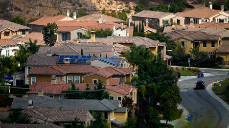 New U.S. single-family home sales surged in October and the inventory of properties for sale was the highest since early .