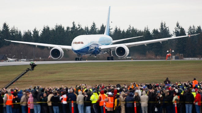 Boeing 787 Dreamliner's Maiden Fligh