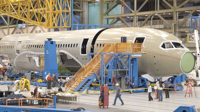 Boeing 787 Production