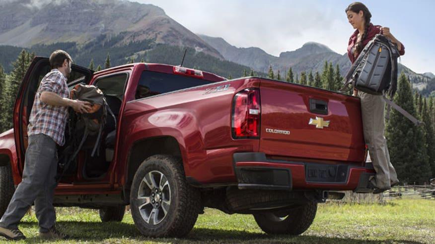 2015 Chevrolet Colorado camping, GM