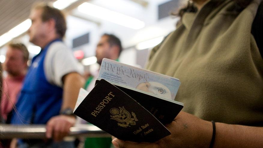 passport, US passport, travel