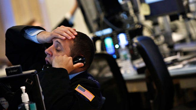 Wall Street Ravaged by Fed Fears