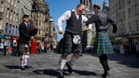 Britain promised to guarantee Scotland high levels of state funding, granting Scots greater control over healthcare spending in a last-ditch attempt to shore up support for the United Kingdom before Thursday's vote on independence.