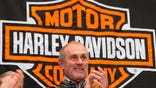 Harley-Davidson's third-quarter earnings fell .% as the company shipped fewer motorcycles.