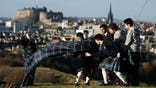On the eve of Scotland's independence referendum, the fate of the United Kingdom rests on hundreds of thousands of wavering Scottish voters as opinion polls showed supporters of the -year union just a whisker ahead of secessionists.