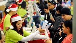 Whether your gift giving includes a flat panel TV or the latest toy, experts say you can save double digit percentages this holiday season.