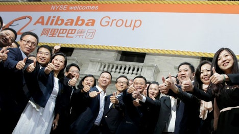 Alibaba CEO Jack Ma was on hand at the NYSE on the Chinese e-commerce giant's opening day, and told FBN's Jo Ling Kent about his goals for the company, saying the trust people have put in the group has been a blessing.