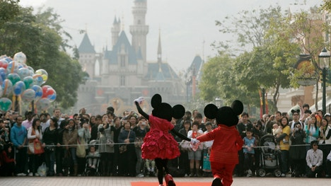 Disney posted a record profit in the June quarter, but its revenue missed Wall Street expectations for the first time in two years.