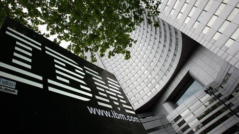 IBM revealed adjusted Q profits of $. a share, matching estimates. Big Blue's revenues of $. billion were slightly short of views.