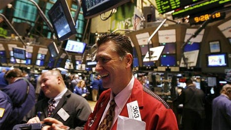 The Nasdaq Composite crossed the  mark for the first time in , the height of the dot com bubble, as U.S. equity markets extend February gains.