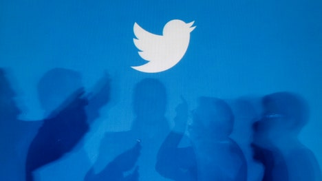 The company's results sent Twitter shares up % in after-hours action.