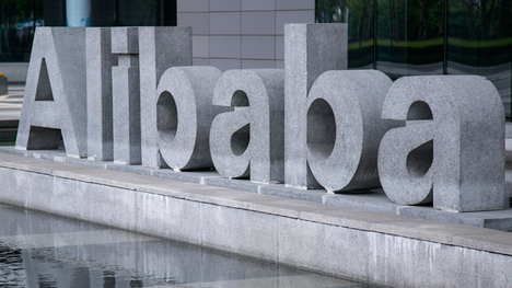 Chinese e-commerce giant Alibaba priced its IPO at the top of its expected range at $ a share on Thursday, raising $. billion.