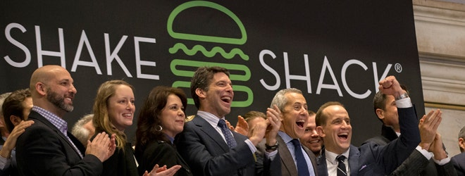 Rapid Ratings' CEO discusses Shake Shack's business profile, saying the brand, which has gone from street stand to cult chain, and now cult stock, can produce profits for its shareholders -- and it's all in the numbers. Shake Shack surged as high as % in its first day of trade, closing just under $ per share.