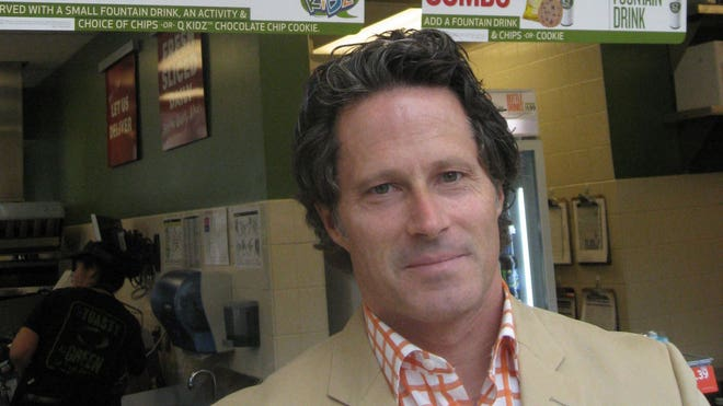 Quiznos CEO Greg MacDonald