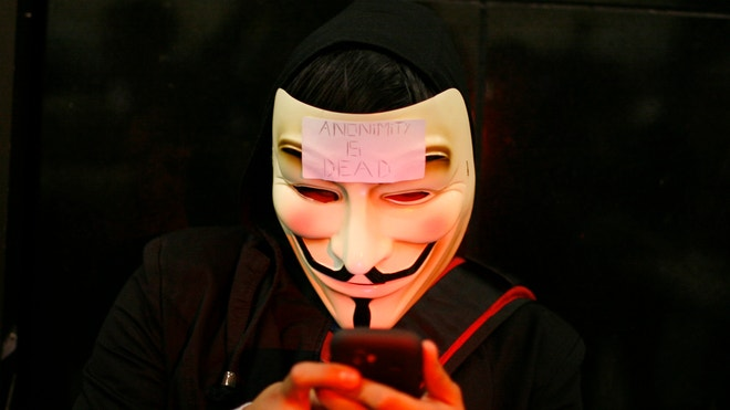 anonymous mobile hacker cyber