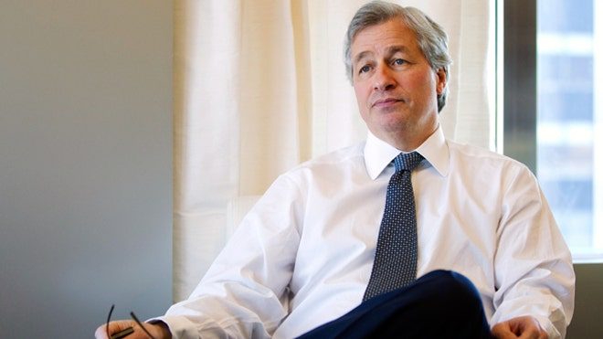 Jamie Dimon JPMorgan Chase NYC Office