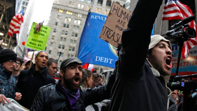 Occupy Wall Street Protesters Nov 17 2011