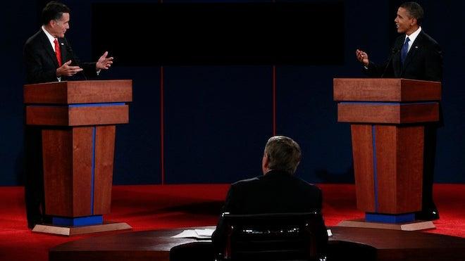 Presidential Debate, Romney Obama Debate