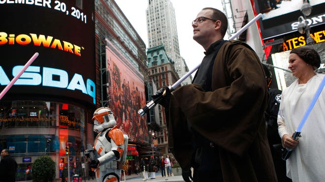 star wars times square reuters