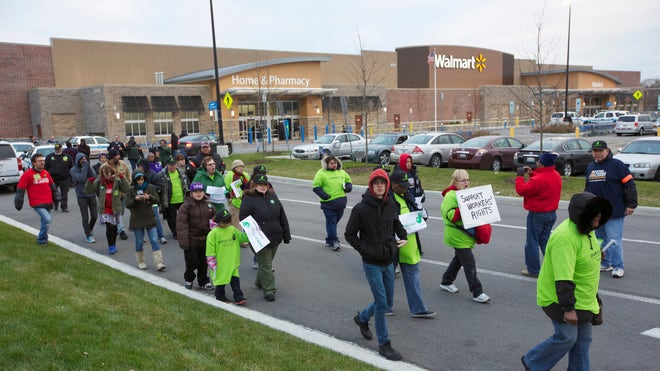 walmart protest black friday