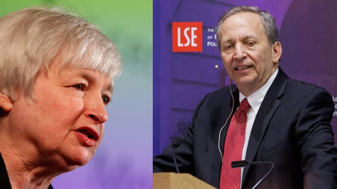 Janet Yellen, Larry Summers
