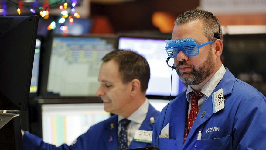 NYSE trader 2015
