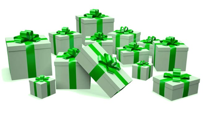 Green Holiday Gifts