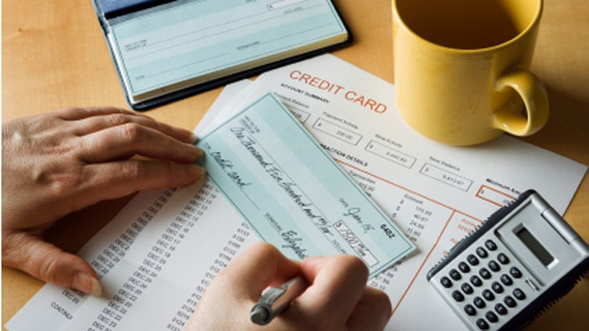 Write Check Credit Card Bill