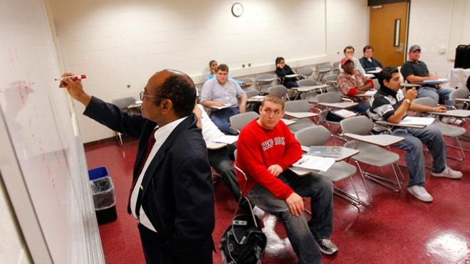 College Professor Lecture, 640x360