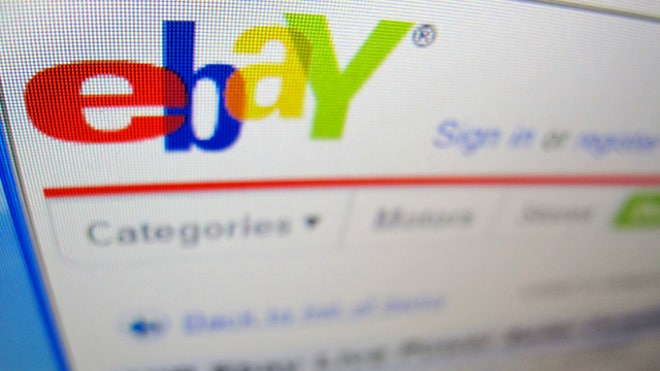 eBay Web Page Online Auctions