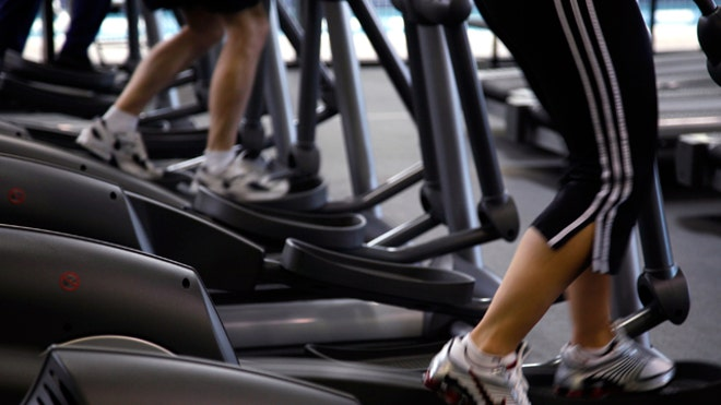 Exercise Machines at a Gym Reuters