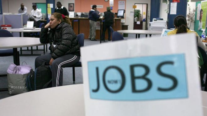 Jobs Sign Unemployment Jobless