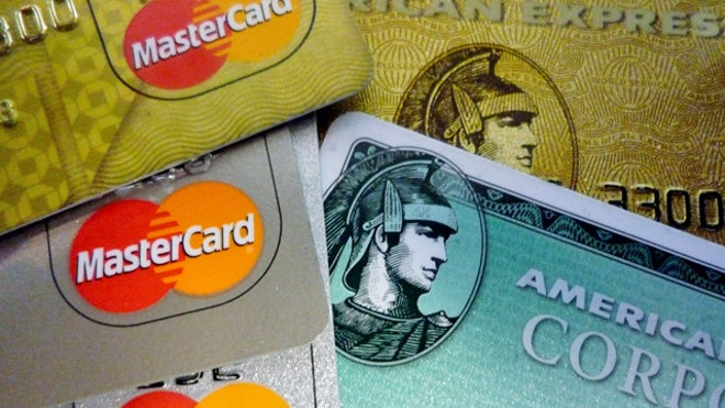 Mastercard and American Express Credit Cards