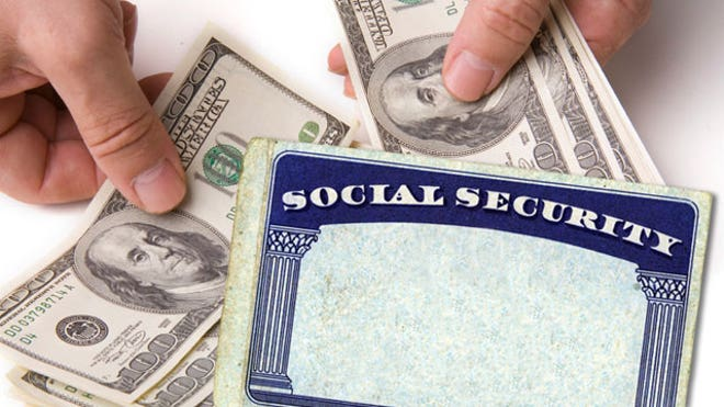 Social Security Card With