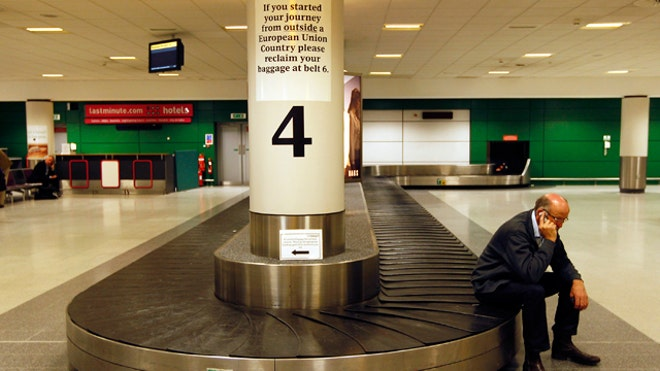 Business Traveler Baggage Claim