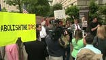 FBN's Peter Barnes reports on protests by Tea Party activists against the IRS.