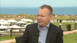 Nokia CEO Stephen Elop on the company's products in the works.