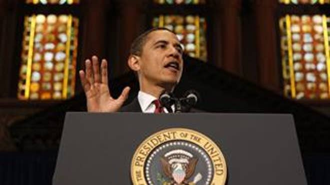 President Obama delivers remarks on the economy