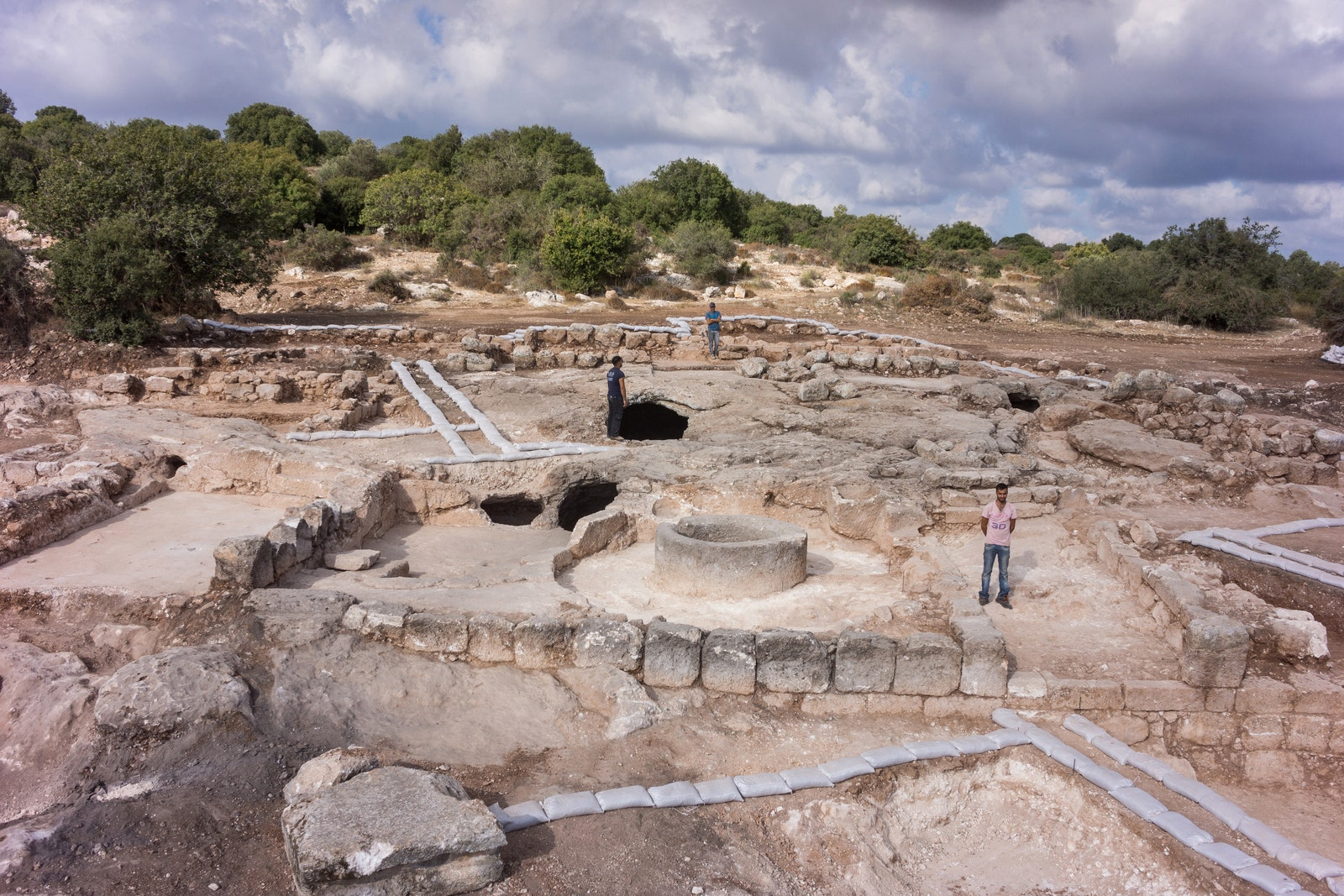 Archaeologists discover industrial scale wine production at ancient site