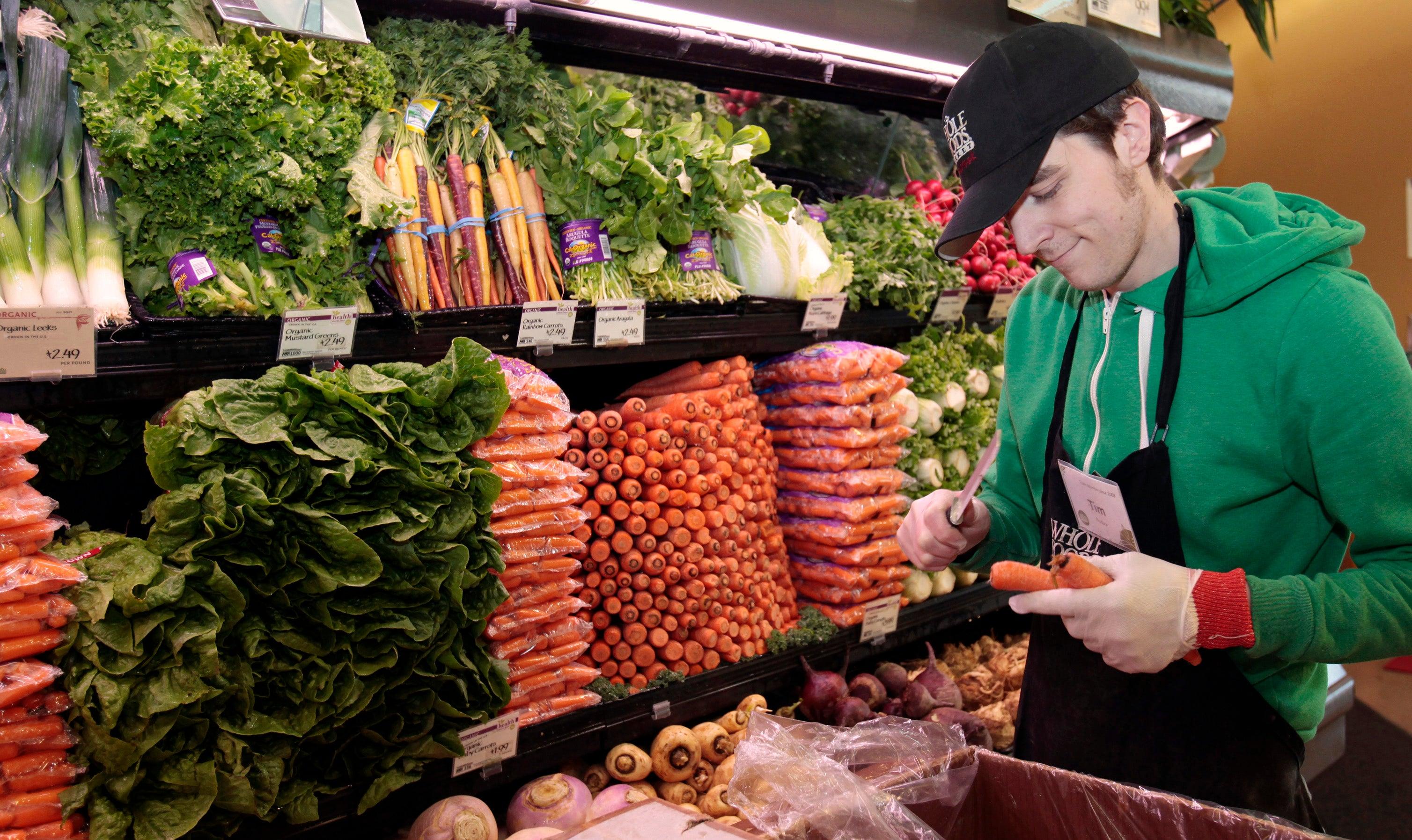 whole foods market employee