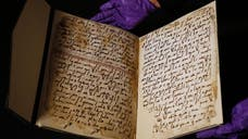 Fragments of an ancient Koran, which scholars say may predate the accepted founding date of Islam by the prophet Muhammad, are sparking intense debate with at least one expert saying that the manuscript's writing belongs to a slightly later era.