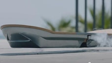 A couple of months ago, Lexus introducedits rideable Hoverboard to the world in a YouTube video. We couldn't be certain whether or not it was a prank, as no one actually rode the floating skateboard in the video, but earlier this month, we finally got to see the Hoverboard in action. It was incredible, but even with video proof, it's still hard to believe it's real.