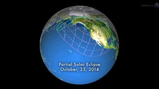 Viewers throughout most of the United States are in position to see a partial solar eclipse Thursday afternoon (Oct.).