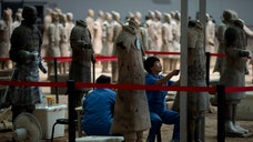 China is expanding the ranks of the famed Terra Cotta Warrior army with new excavations expected to yield hundreds more of the ancient life-size figures.